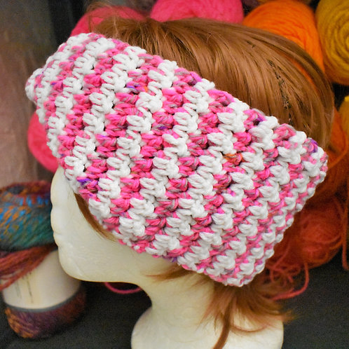 Houndstooth Mobius Head Band