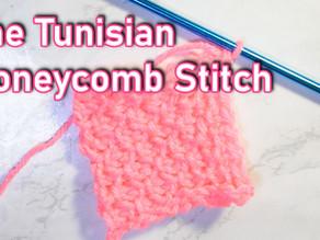How to Crochet the Tunisian Honeycomb Stitch