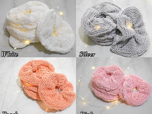 Handmade Cotton Blend Scrunchies