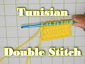 How to Crochet the Tunisian Double Stitch