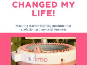Making Money With The Sentro Knitting Machine