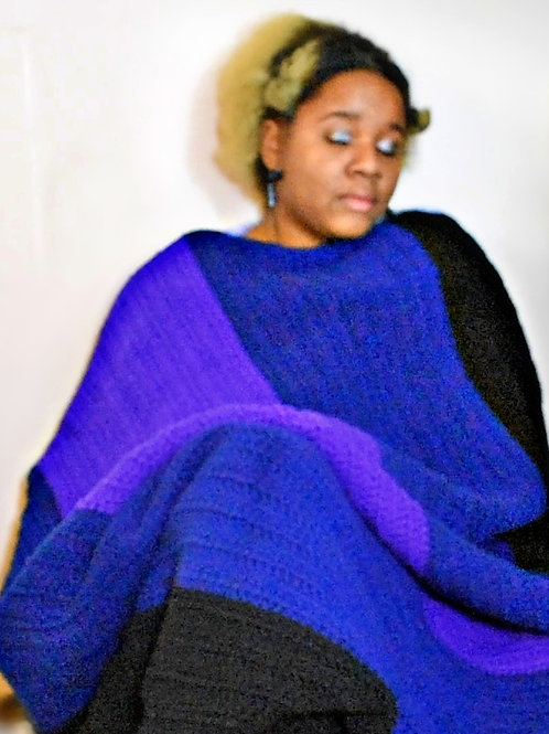 Color Blocked Blanket