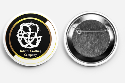 Infiniti Crafting Company Round Button Pins