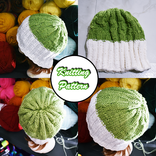 Helter Skelter Knitted Cap Pattern