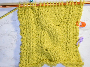 How to Crochet Tunisian Cables