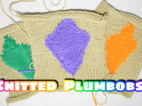 How to Knit the Sims Plumbob Patch