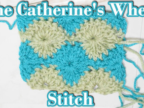 How to Crochet the Cathrine's Wheel Stitch a.k.a the Harlequin Stitch