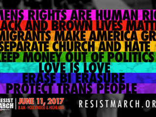 Corporate America. #ResistMarch doesn't want your money, but we want your people standing with u