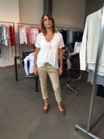 Bianco Jeans 1116137GR Farbe Olive