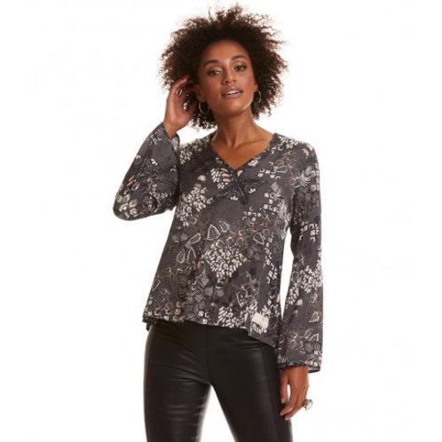 Odd Molly 918M-633 magic garden blouse