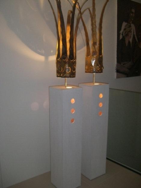 Mega-Kronen Lampe