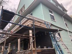 Porch restoration with OG Profile