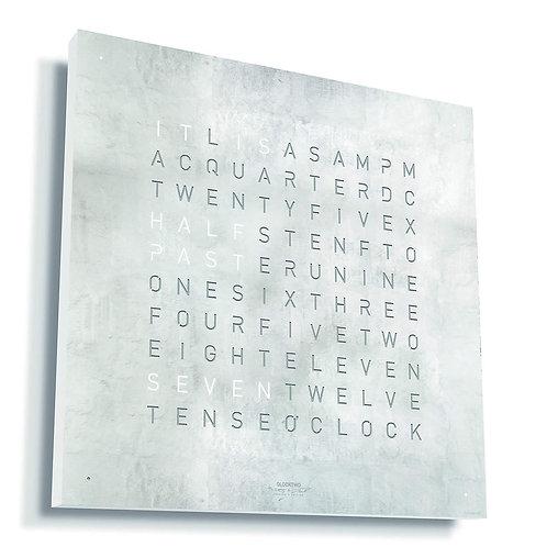 Qlocktwo Classic Creator Edition Platin