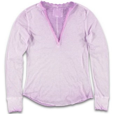 Damen Shirt Lace Orchid