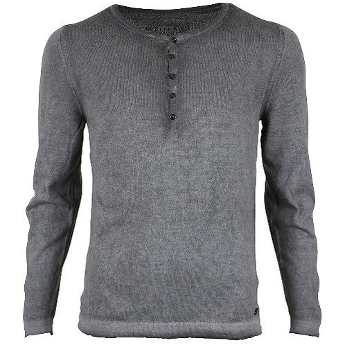 Better Rich Herren Pullover Mott Knit Anthrazit