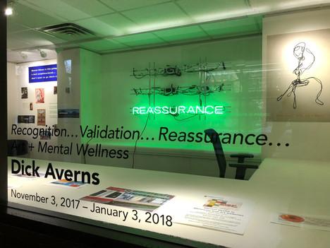 Dick Averns, Recognition… Validation… Reassurance… Art + Mental Wellness.