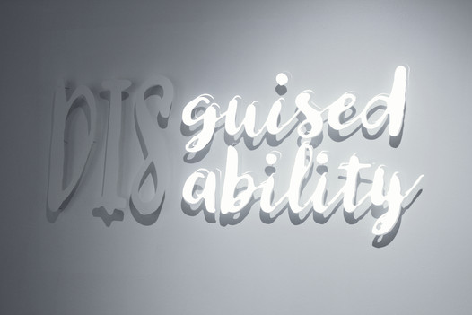 """Adapt... Ability... Disability. Kirstin Lindquist, """"Guised Ability""""."""