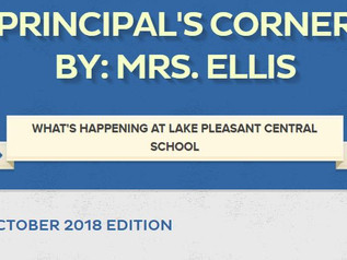 Principal's Corner Newsletter