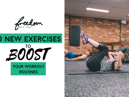 10 Exercises To Boost Your Workout Routines