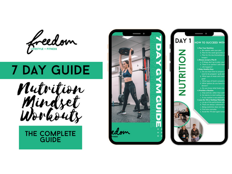 7 Day Gym Guide - Complete Mindset, Nutrition & Workout Guides