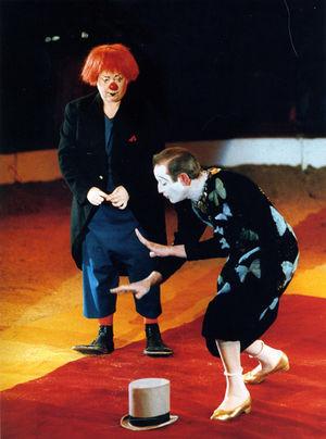 Annie Fratellini & Pierre Étaix (c.1980)