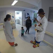 Clowning at Hospital