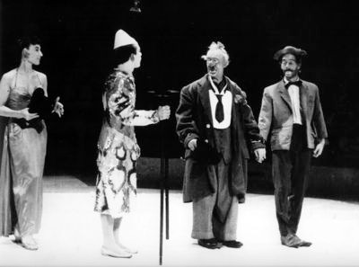 Les Bario: Henny, Freddy, Bario e Nello (1952)