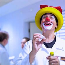 Clowning at Hostpital