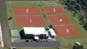 Arial view of The Croatian Club