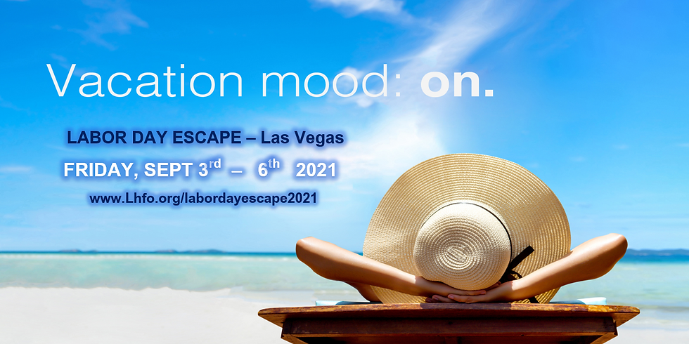 Labor Day Escape 2021 - Las Vegas (ADULTS ONLY!)