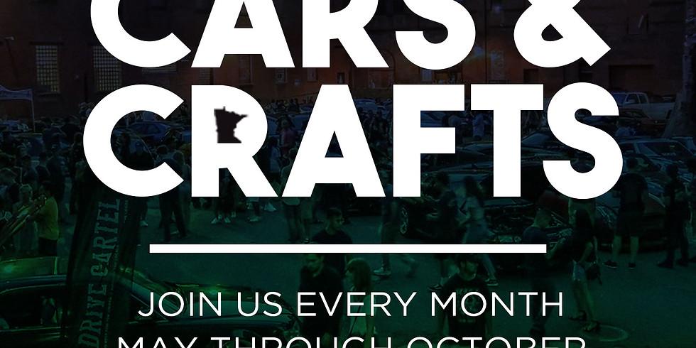 Cars & Crafts - June 5th