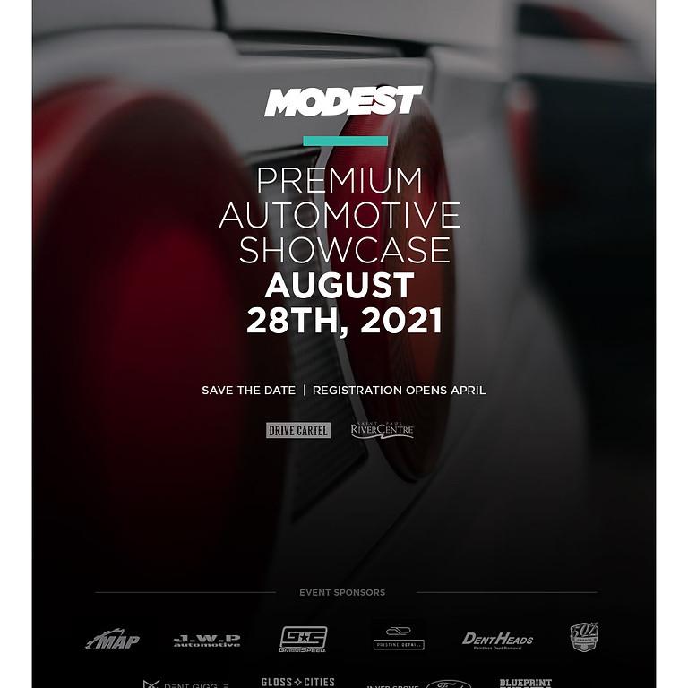 Modest - Premium Automotive Showcase