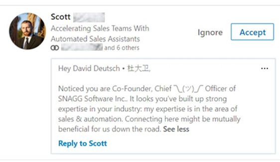 How not to use LinkedIn automation: a cautionary tale