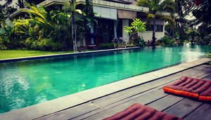 Awesome pool at Shala Bali