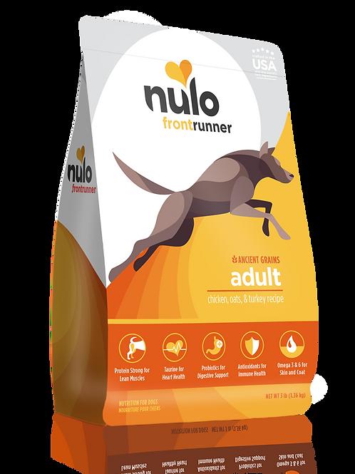 Nulo Frontrunner Chicken, Oats & Turkey Recipe