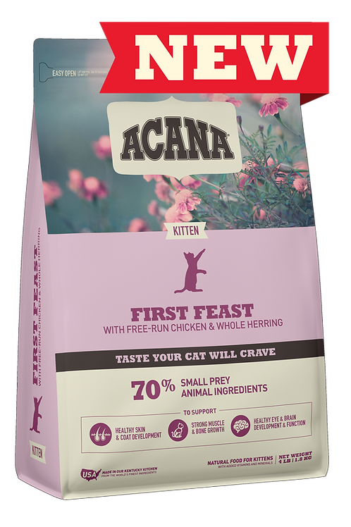 Acana Kitten First Feast Dry Cat Food