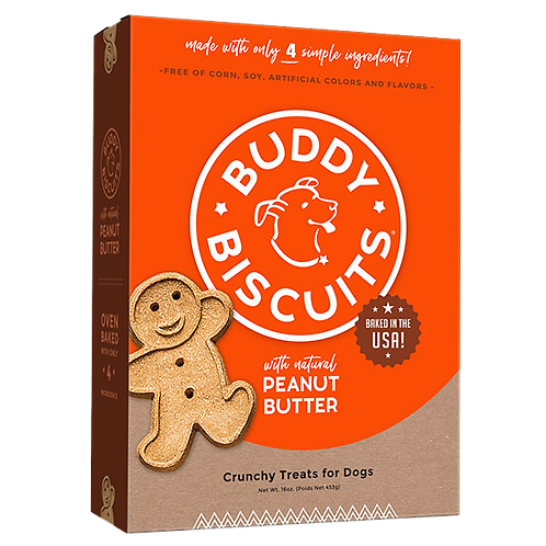 Buddy Biscuits Oven Baked Treats: Peanut Butter