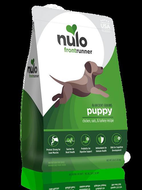 Nulo Frontrunner Puppy Chicken, Oats & Turkey Recipe