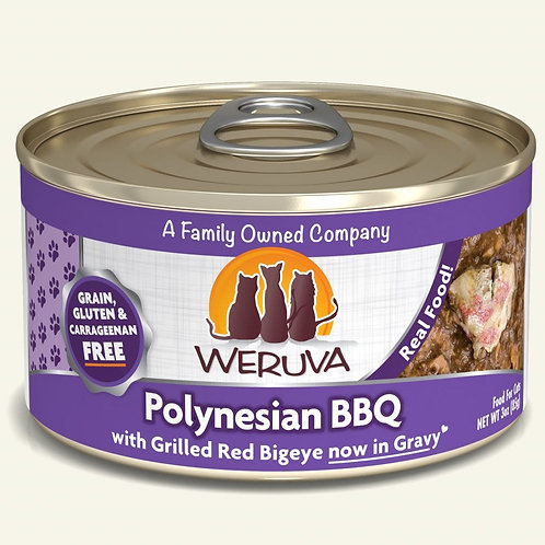 Weruva Polynesian BBQ with Grilled Red Bigeye in Gravy