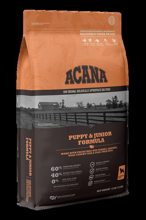 Acana Puppy & Junior Formula