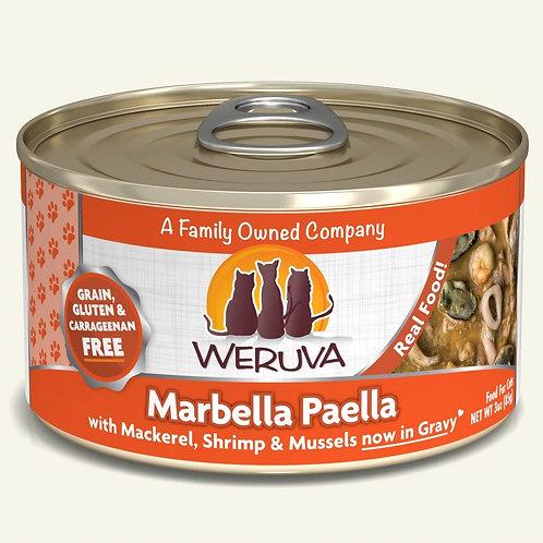 Weruva Marbella Paella with Mackerel, Shrimp & Mussels in Gravy