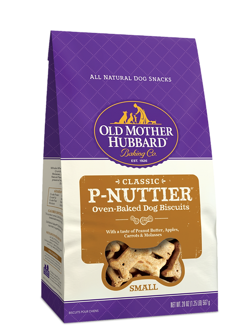 Old Mother Hubbard  P-NUTTIER Dog Treats