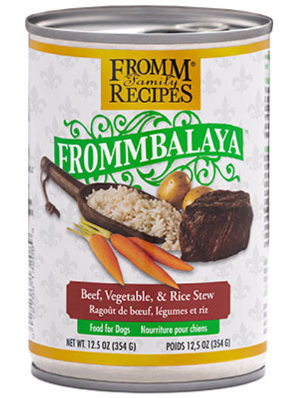 Fromm Frommbalaya Beef, Vegetable, & Rice Stew