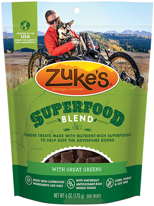 Zuke's SuperFood Blend with Great Greens