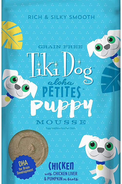 Tiki Dog Aloha Petites Puppy Mousse