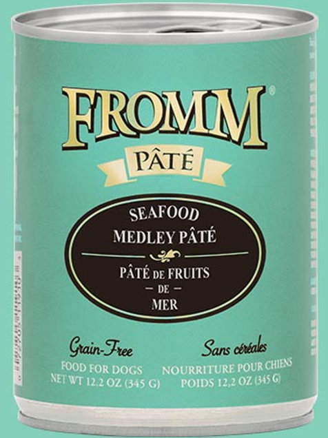 Fromm Seafood Medley Pâté Can
