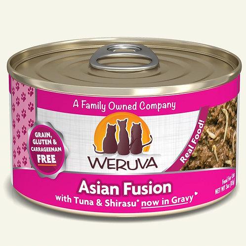 Weruva Asian Fusion with Tuna & Shirasu in Gravy
