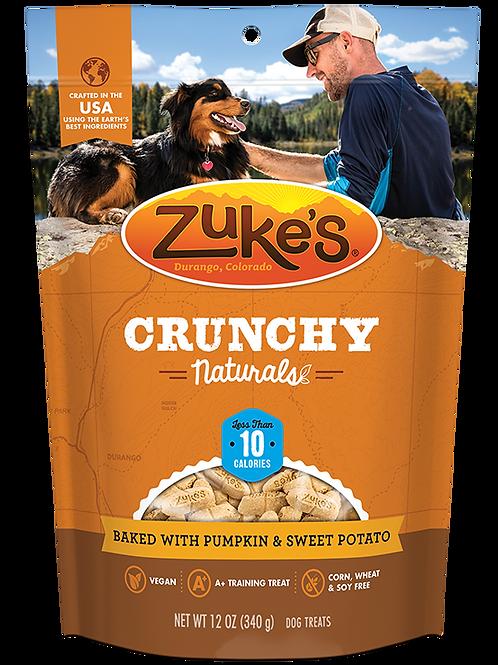 Zuke's Crunchy Naturals 10s Baked with Pumpkin & Sweet Potato
