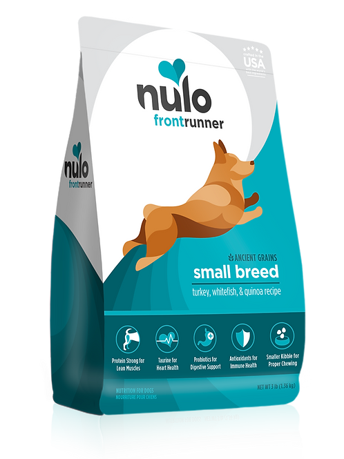 Nulo Frontrunner Small Breed Turkey, Whitefish, & Quinoa
