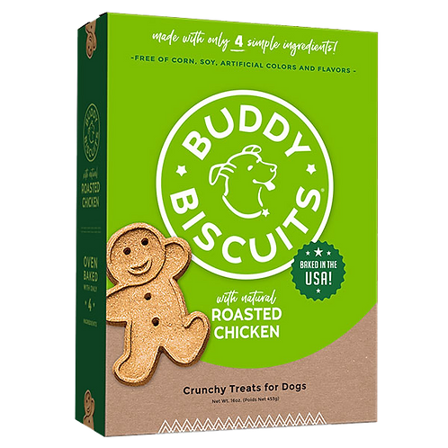 Buddy Biscuits Oven Baked Treats: Roasted Chicken
